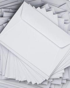 Envoi de courriers papier en nombre