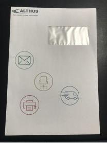 Imprimer vos enveloppes avec votre logo sur imprimante-etiquettes.com